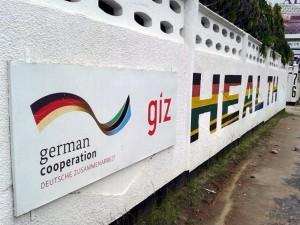 Das Gebäude der GIZ in Daressalam in Tansania